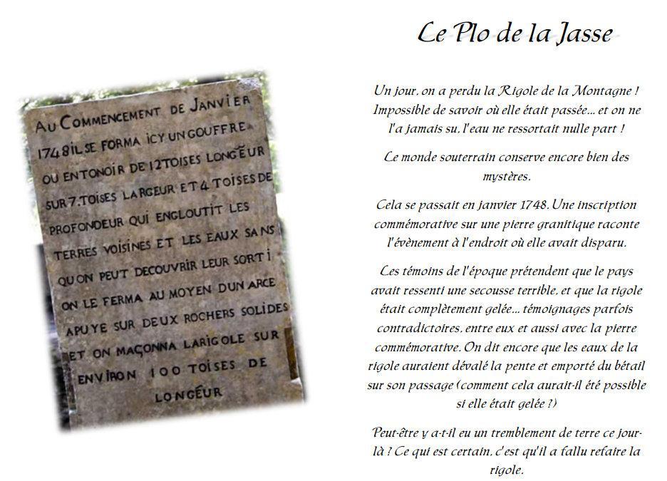 La rigole 1748